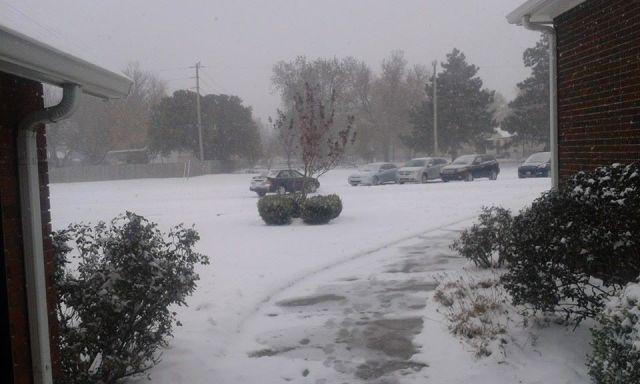winter at northridge