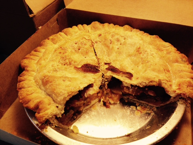 New Mexico pie
