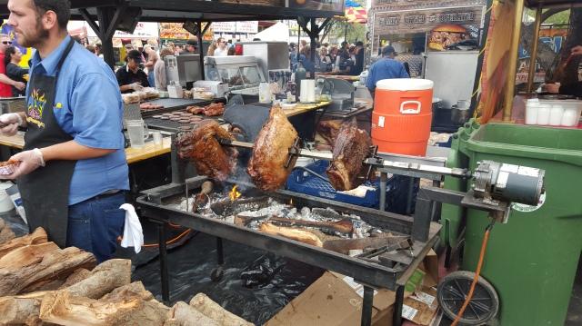 rotisserie meat street fair