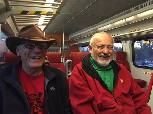 Dave n LeRoy train